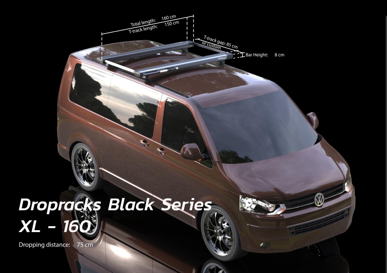Dropracks Black Series Dachgepäckträger