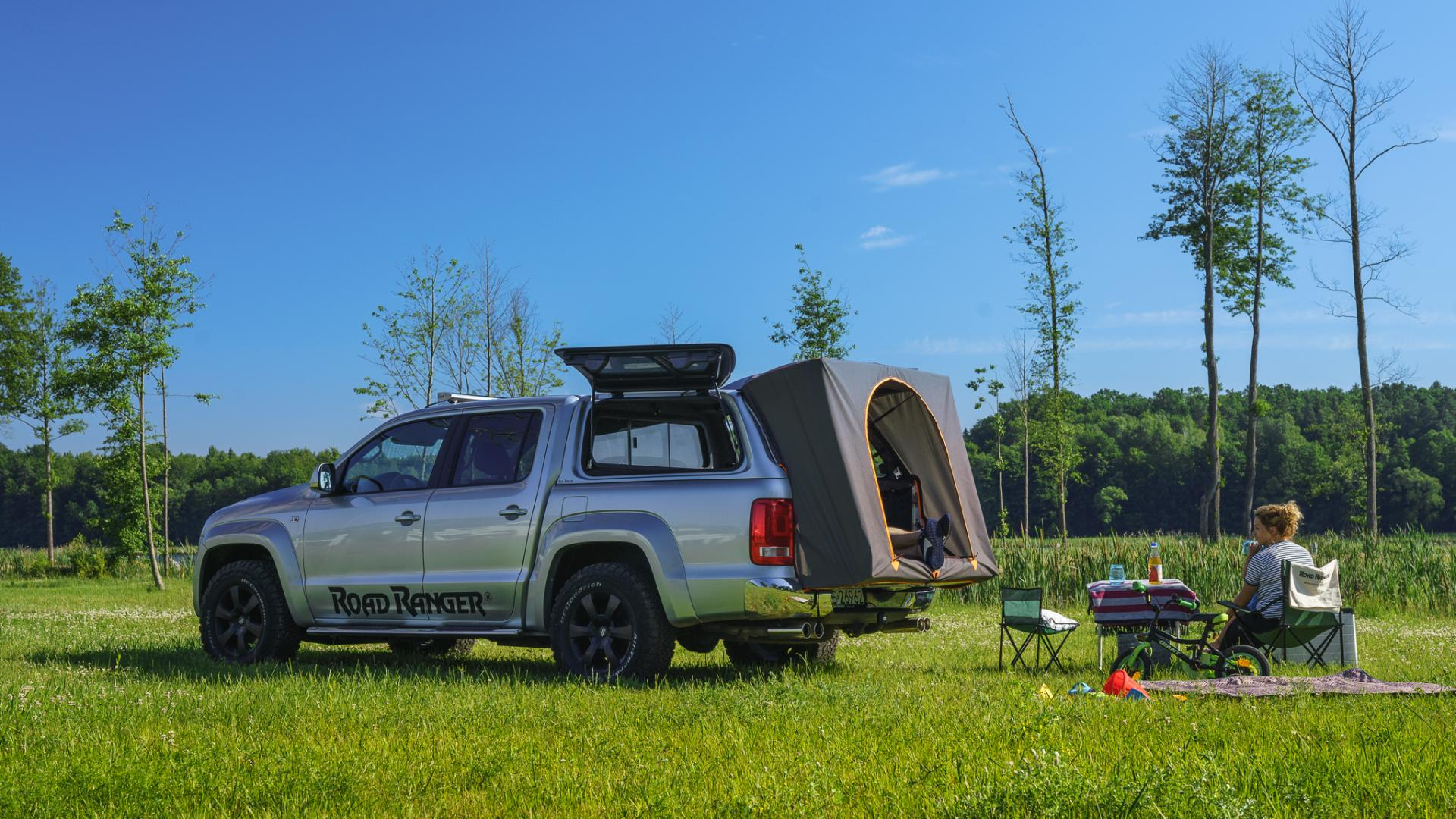 Foot-pack tent VW Amarok RH4 Camping