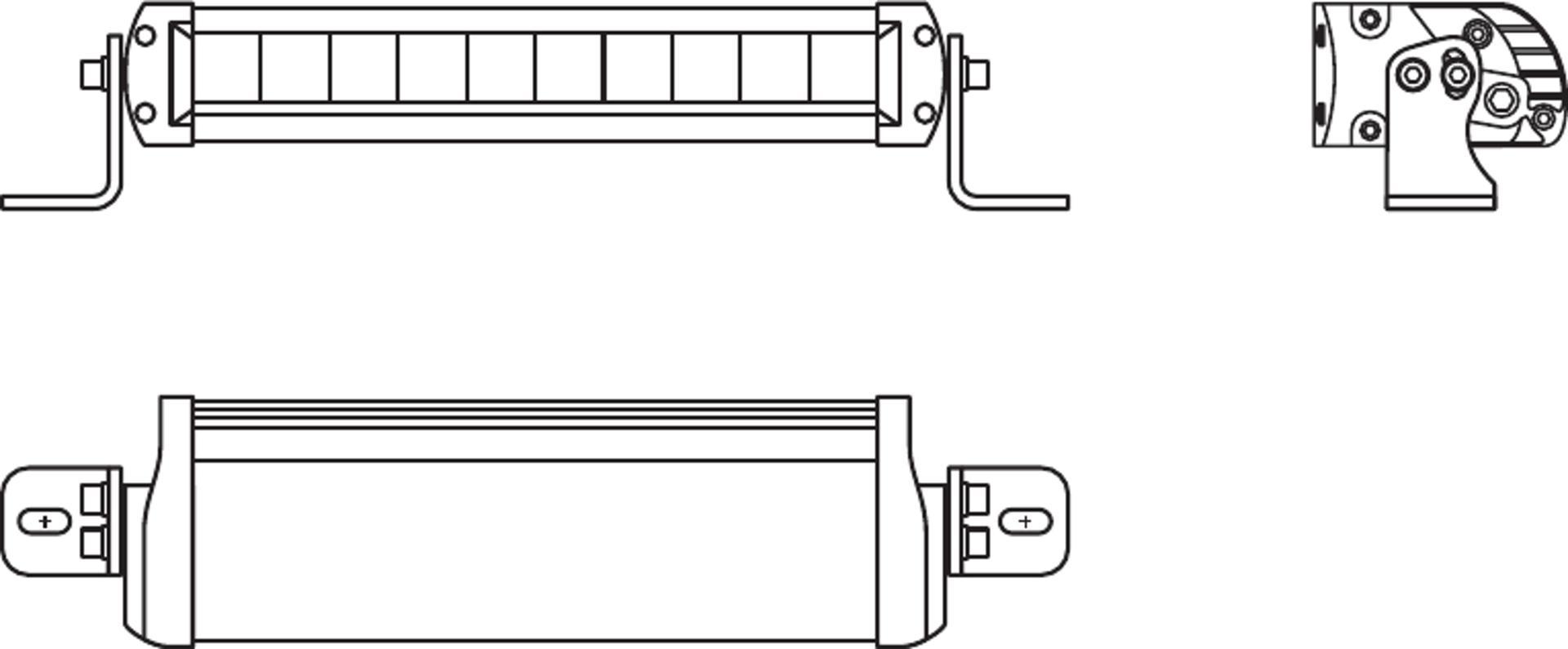 LEDriving Lightbar FX250 Scheinwerfer