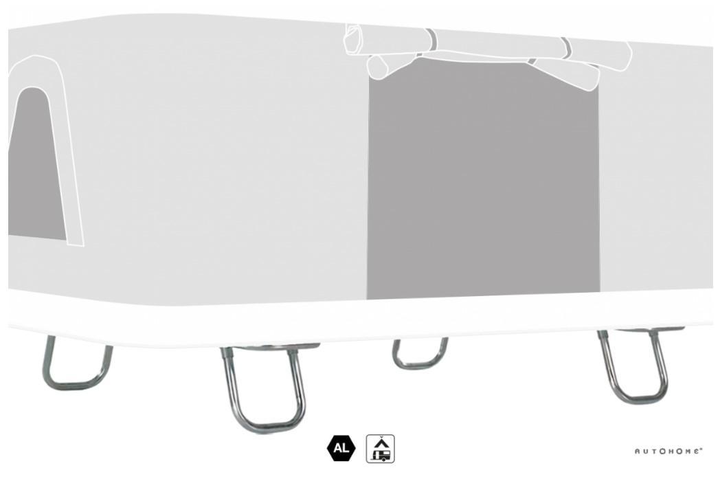 Maggiolina / AirTop Bodenstandfüße Dachzelt