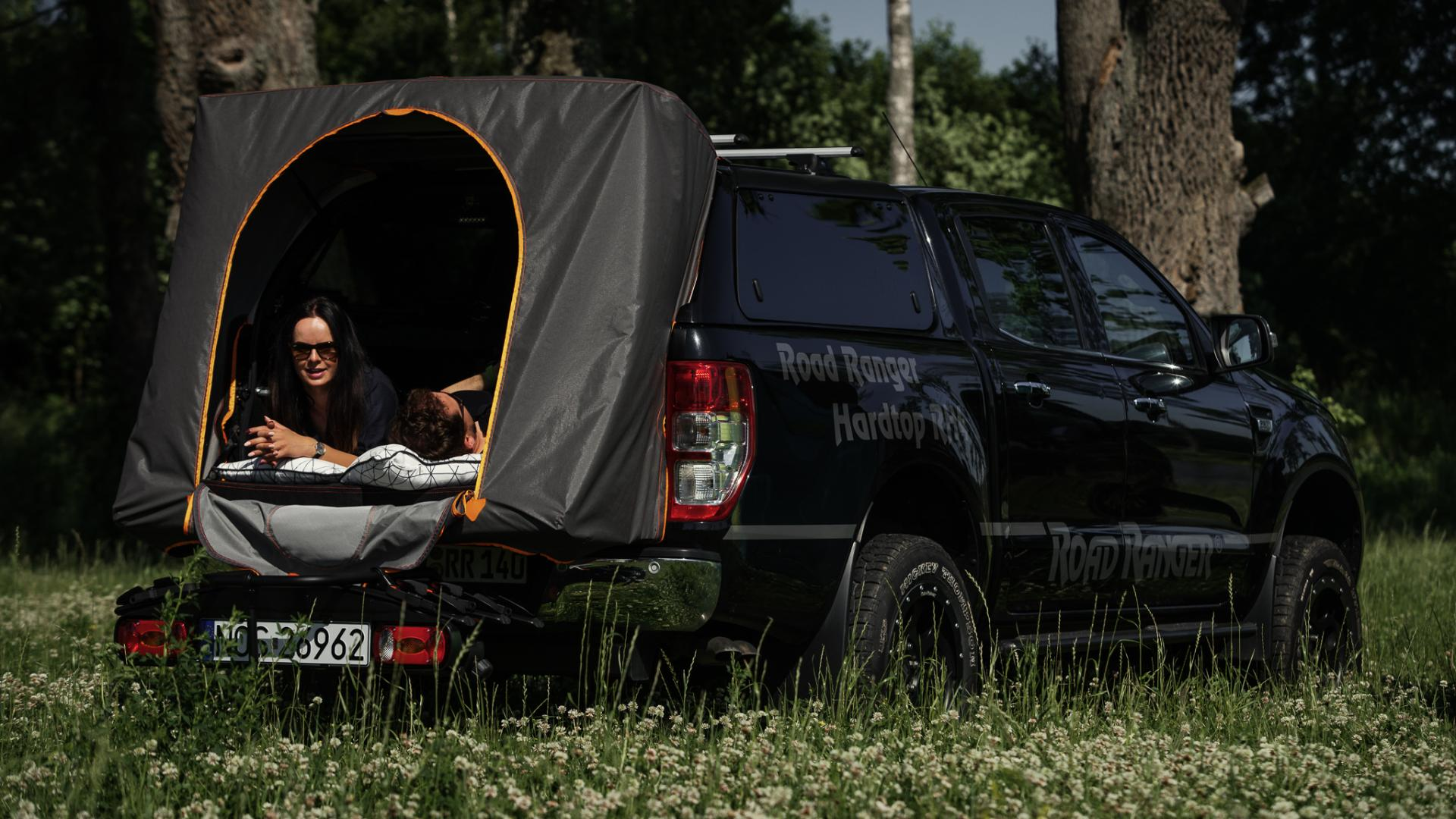 Foot-packing tent Ford Ranger RH4 Camping