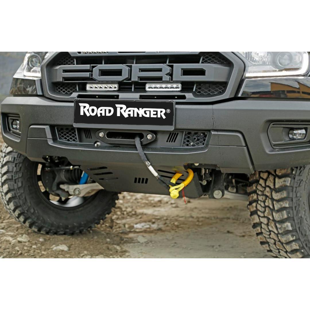Frontseilwinde Alpha für Ford Ranger Raptor 2019+ Winden