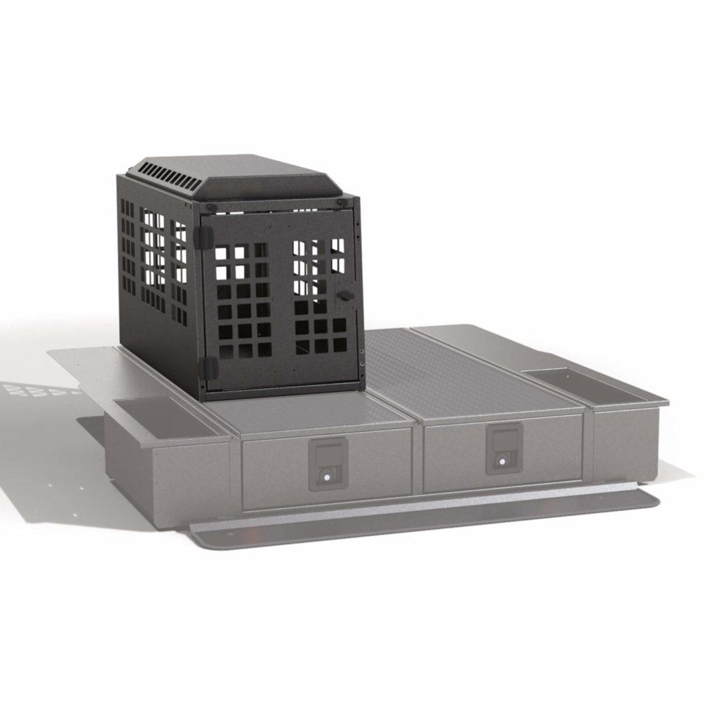 Hundebox für Schubladensystem Schubladen