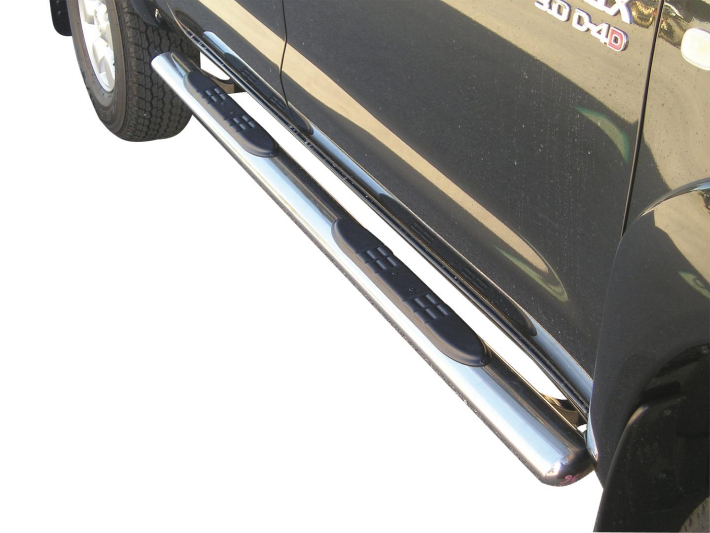 Schwellerrohre oval mit Tritt-Auflage Styling Parts