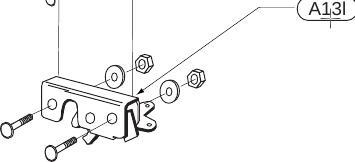 KIT 68 Riegel A13i Ersatzteile Alucover