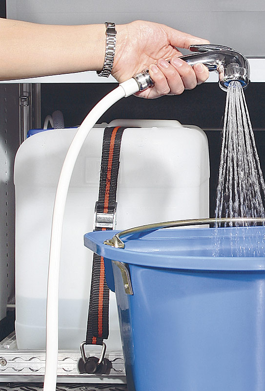 Water canister 20 litre package Sanitary articles