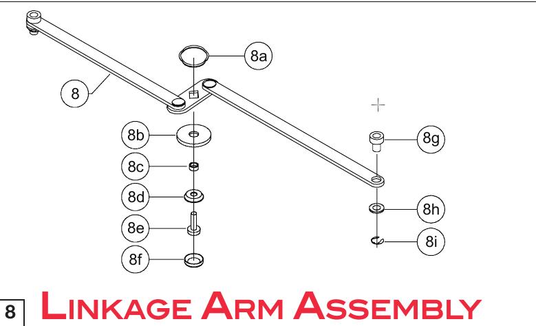 Schubstangen (komplettes Set) Ersatzteile Roll-N-Lock