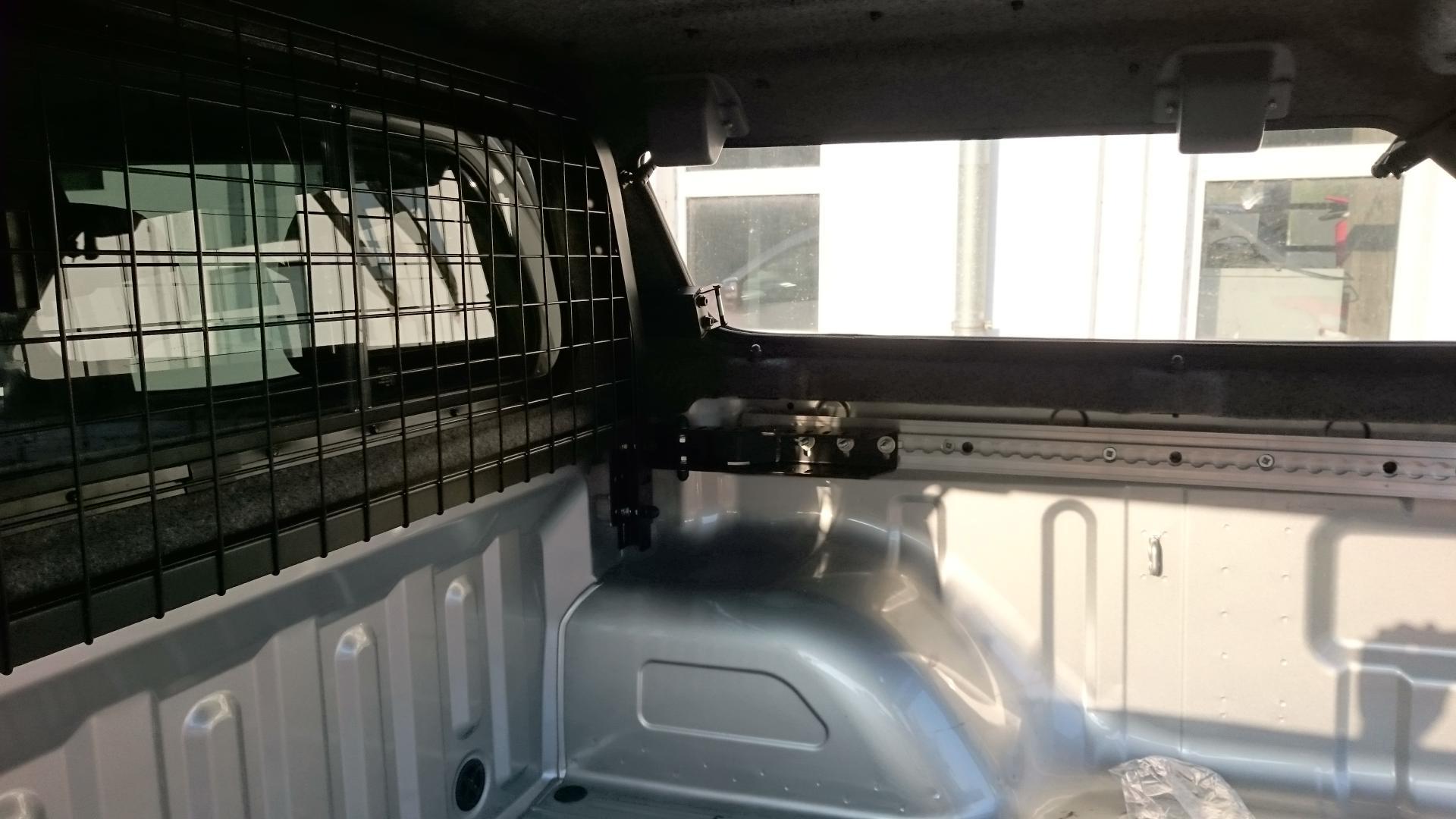 Heckschutzgitter für BHS / Adapter Heckschutzgitter