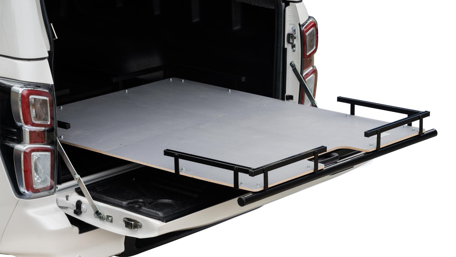 Extendable loading platform Universal Extendable loading area