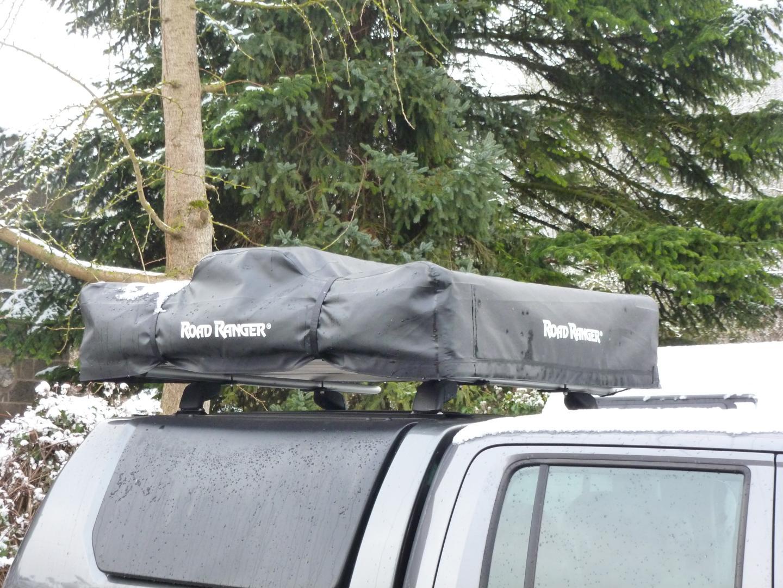 Road Ranger Dachzelt Abdeckung (Schwarz) Dachzelt