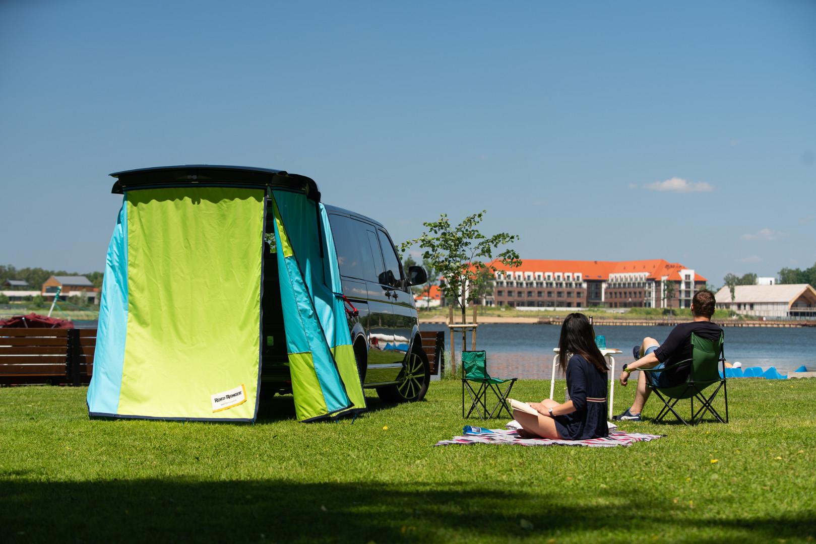 Heckzelt Camping