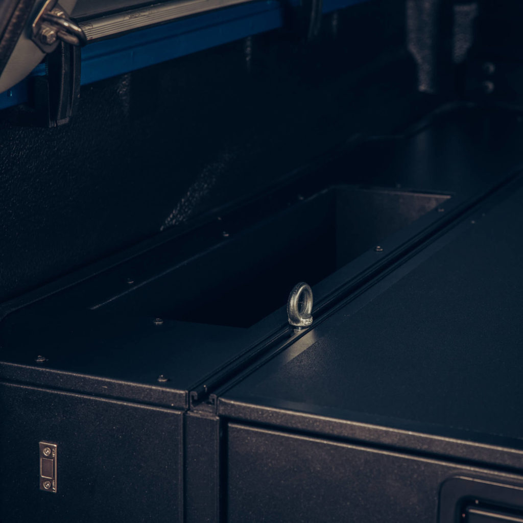 Seitliche Fächer für Schubladensystem Schubladen