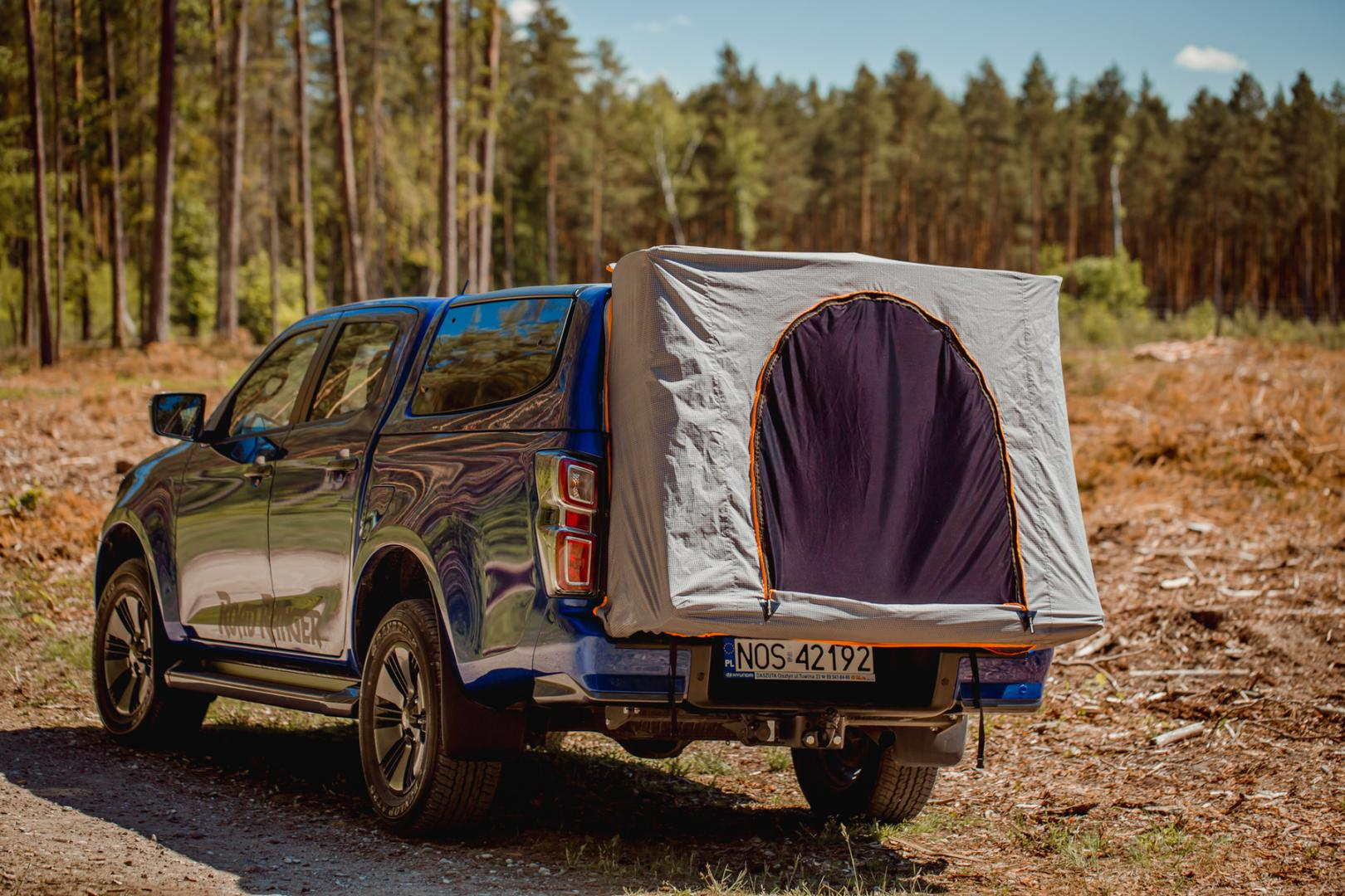 Fuß-Pack-Zelt Isuzu D-Max RH5 Camping