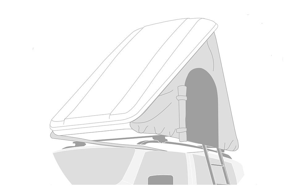 Thermohaube Dachzelt