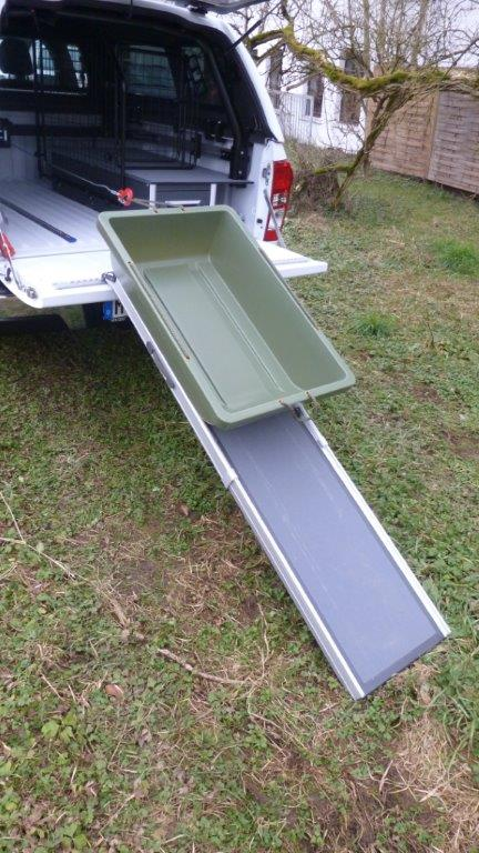 Dog Ramp telescopic ladder Ramps and loading area extension