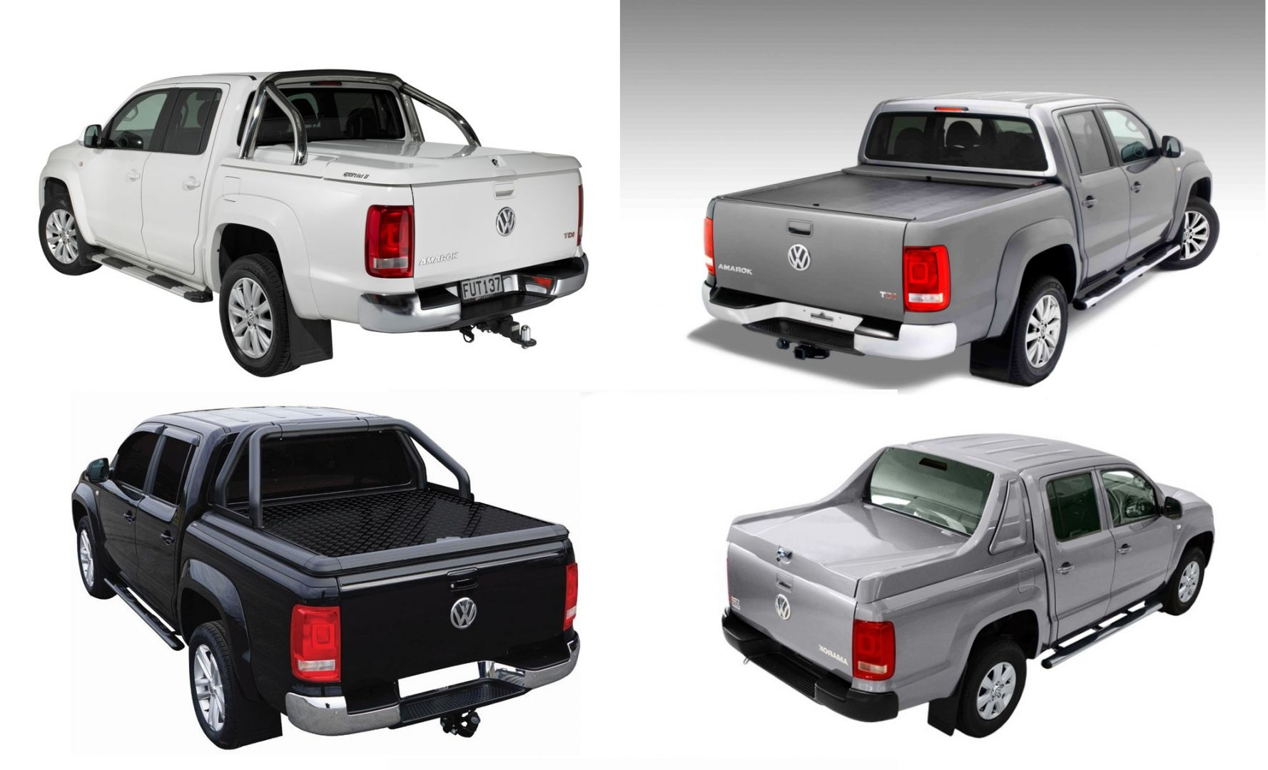 Truck Bed Covers For The Vw Amarok Road Ranger